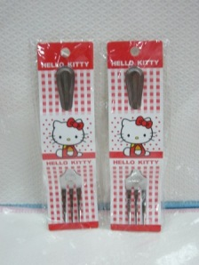 Garpu Kecil China Hello Kitty