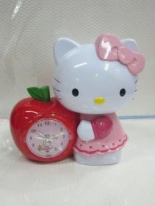 Jam Weker Apple Hello Kitty