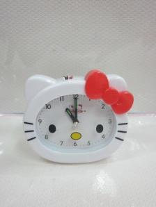 Jam Weker Kepala Hello Kitty