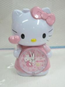 Jam Weker Kumbang Hello Kitty